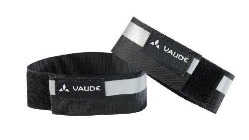 VAUDE  Reflektorbänder Reflective cuffs, black, One Size, 133960100