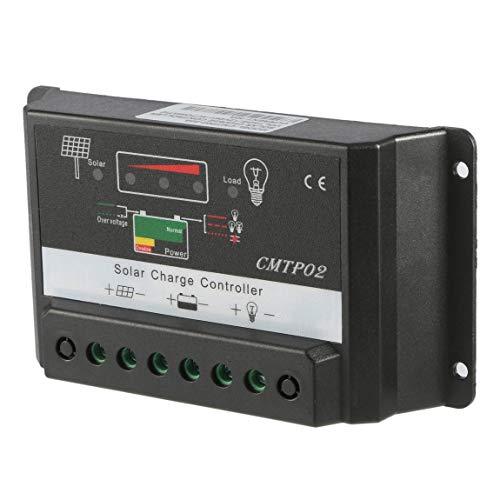 30A 12 V / 24 V Professionelle Led-bildschirm PWM Solar Panel Batterieregler Laderegler CMTP02-30A Schwarz (farbe: schwarz)