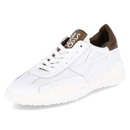 A.S.98 Sneaker Größe 43 EU Weiß (Weiß)