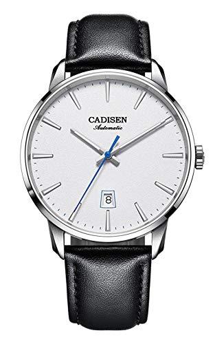 CADISEN C8173, 42mm, White, NH35 Movement, Display, Sapphire, Lume, BNIB