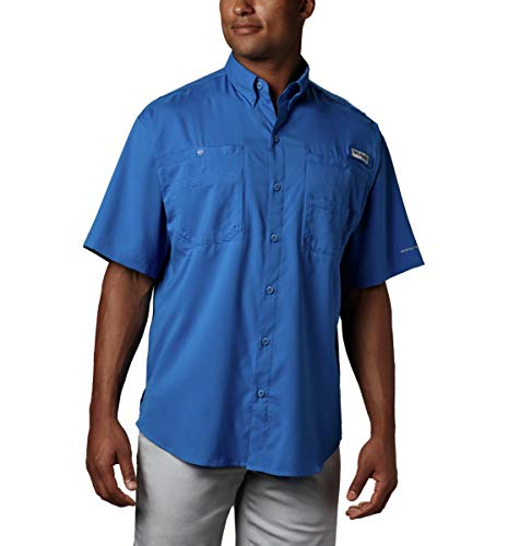 Columbia Men's Tamiami II Short Sleeve Shirt, Vivid Blue, X-Small