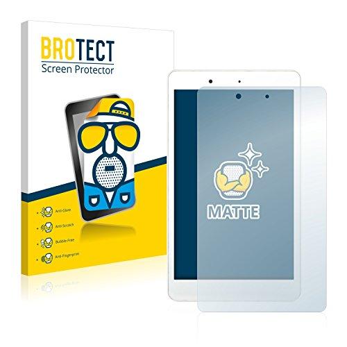 BROTECT 2X Entspiegelungs-Schutzfolie kompatibel mit BQ Aquaris Edison 3 Mini Bildschirmschutz-Folie Matt, Anti-Reflex, Anti-Fingerprint