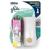 Glade Touch and Fresh - Ambientador y recambio de flores tropicales, 10 ml