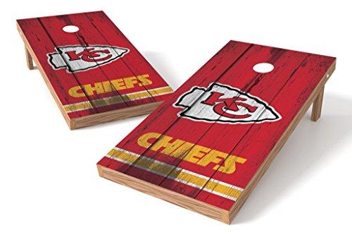 PROLINE NFL Kansas City Chiefs 2'x4' Cornhole Board Set - Vintage Design