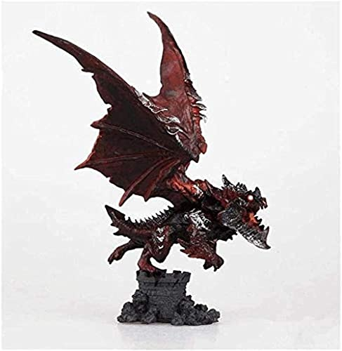 Hand & amp Made Blizzard World of Warcraft The Death Dragon Wings Figura PVC Anime Figura Anime Modelo de Personaje de Dibujos Animados