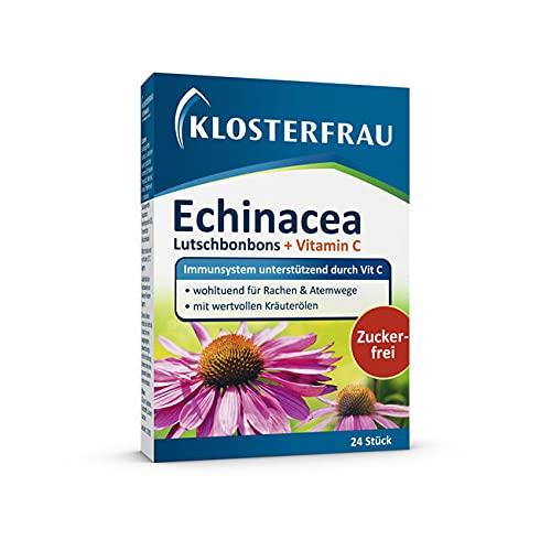 Klosterfrau Echinacea Lutschbonbons | immuunsysteem ondersteund door vitamine C | 24 zuigtabletten