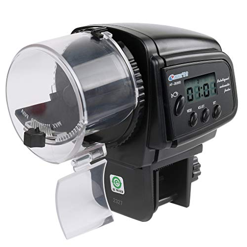royalr Digital LCD Automatic Aquarium Tank Feeder Timer Pet Feeding Auto Fish Food Feeder Timer Pet Feeding Dispenser