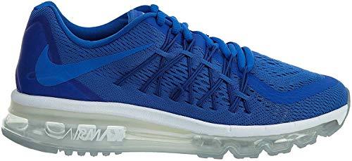 nike air max 2015 (GS) zapatillas para correr 705457 zapatillas - Real Blanco 402, Niño', uk 5.5 us 6Y eu 38.5