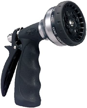 Orbit Ultralight 10-Pattern Turret Pistol Hose Spray Nozzle 58339