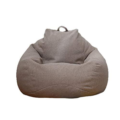 jaspenybow Sitzsack Stuhl, Gefüllte Aufbewahrung Vogelnest Sitzsack Stuhlbezug (ohne Füllstoff), Verdickung Bequeme Sofa Liner Bezug, Riesige Sitzsack Stühle für Erwachsene, Kinder