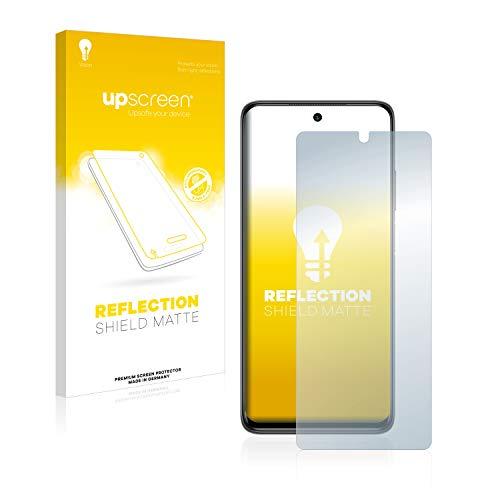 upscreen Entspiegelungs-Schutzfolie kompatibel mit Xiaomi Mi 10T Lite – Anti-Reflex Bildschirmschutz-Folie Matt