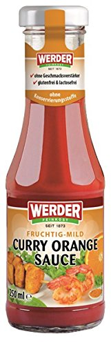 Werder Curry Orange Sauce, 1er Pack (1 x 250 ml)