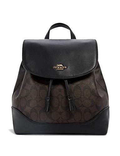 Coach Elle Backpack (Brown - Black)