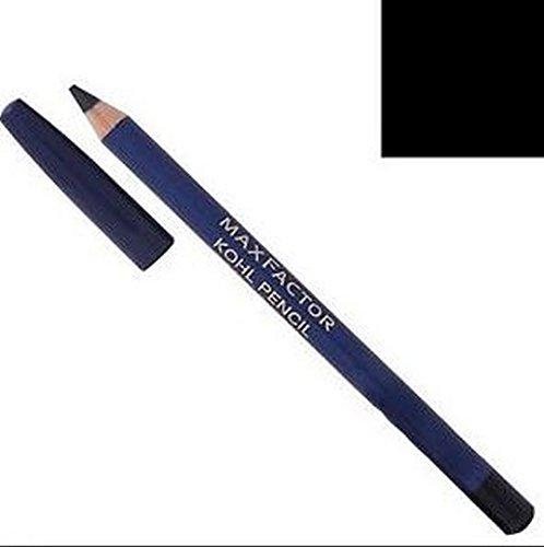 3 x Max Factor Kohl Eye Liner Pencil - 020 Black