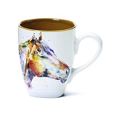 Demdaco 3005210324 Big Sky Carvers Horse Head Mug, Multicolored