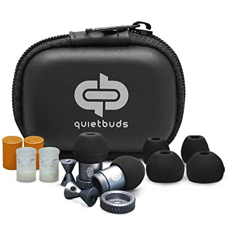 Quietbuds Noise Reduction Cancelling Ear Plugs with Advance Noise Filtering Technology for Studying Sleeping Blocking Harmful Sound Hearing Protection