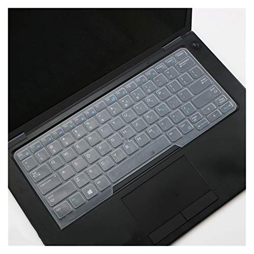 Cover per tastiera Tastiera del computer portatile della copertura della pelle for Dell Latitude 7490 5480 5490 copertura della tastiera for Dell 3340 E3340 E5450 E5470 E7450 14 pollici Per la protezi