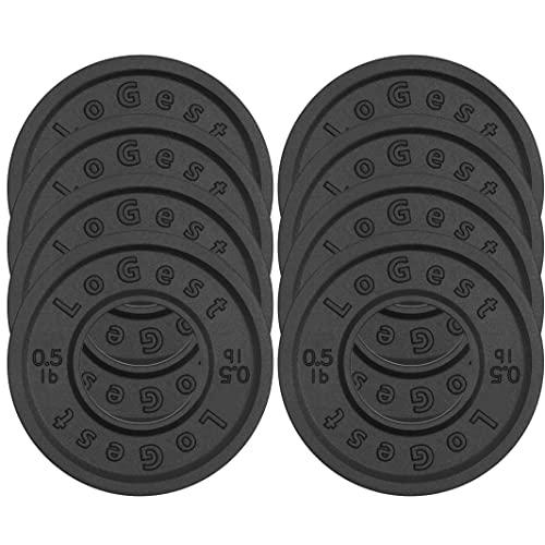 Logest Fractional Olympic Plates Set of 8-0.50LB Plates Fractional...