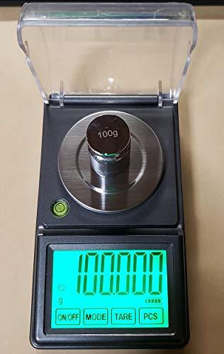 タッチパネ電子てんびんデジタルはかり最新商品DC電源使用可能、日本語取説付精密天秤0.001gで100gスケール超精密はかりデジタル秤最小単位0.001gが計れるデジタル天秤電子天秤デジタルはかり