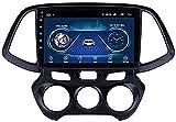 Radio estéreo para automóvil para Hyundai Santro Atos 2018, Receptor de Video de Reproductor Multimedia de navegación GPS de navegación GPS de Doble DIN con 4G DSP Carplay (Color: WiFi 2G + 32G)