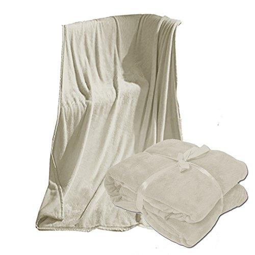 JEMIDI XXL Microfaserdecke Kuscheldecke Tagesdecke, 220x240 cm Sofaüberwurf