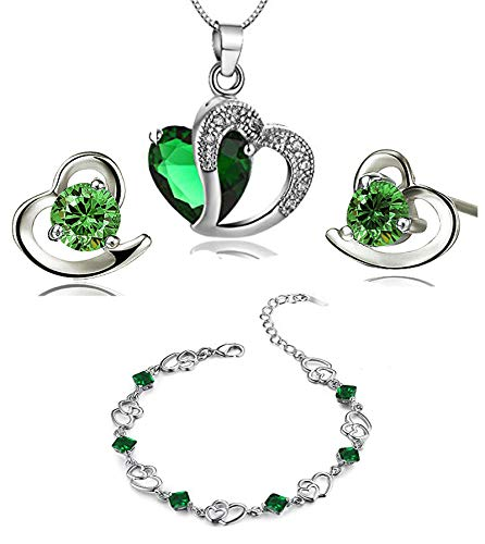 findout Mujer Niños Unisex plata Crystal