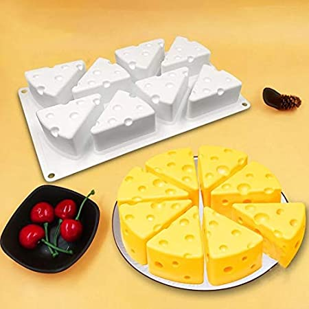 Perfect Pricee Silicone Soap Mould for DIY Kitchen Baking (3D Cheese Cake Mould)