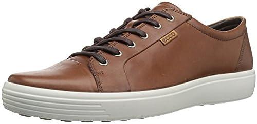 ECCO Men& 039;s Soft 7 Fashion Turnschuhe, Mahogany, 50 EU 16-16.5 M US