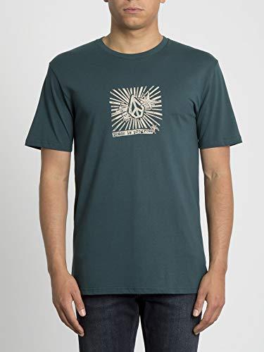 Volcom Prog BSC SS T-Shirt für Herren M Grün (Immergrün)