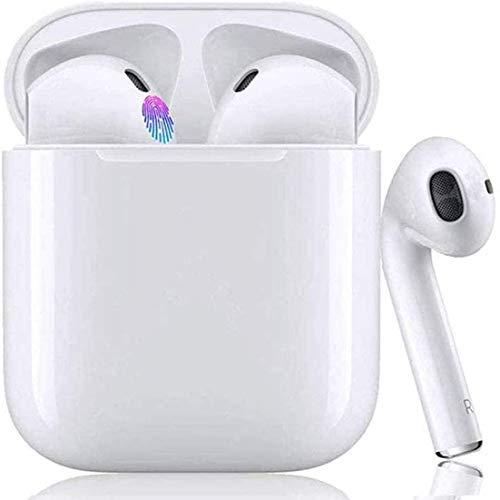 Cuffie Bluetooth con custodia di ricarica (bianca)