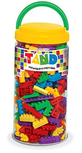 Toyster Tand Blocos de Montar Pote 300 Peças (a cor da capa pode variar)