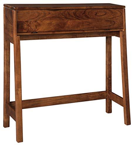 Signature Design by Ashley Trumore Console Sofa Table-Vintage Contemporary-Medium Brown