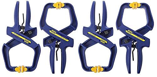 IRWIN Tools QUICK-GRIP Handi-Clamp, 2-Inch (4-pack Gift Set)