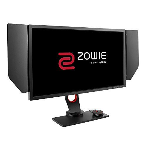 BenQ ZOWIE XL2740 - Monitor Gaming de 27' FullHD (1920x1080, 1ms, 240Hz, HDMI, Black eQualizer, Color Vibrance, compatible G-Sync, S Switch, Viseras, DisplayPort, DVI-DL, Altura Ajustable) - Gris