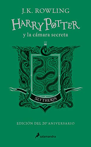 Harry Potter y la cámara secreta (edición Slytherin del 20º aniversario) (Harry Potter 2): Verde