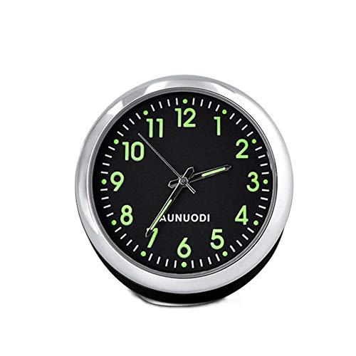 Abilie Auto-Quarzuhr fürs Armaturenbrett, beleuchtet, 1 Stück, Schwarze Uhren