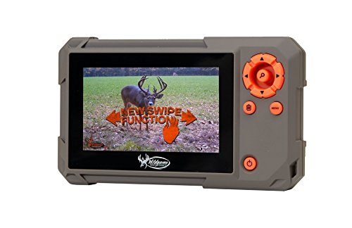 Wildgame Innovations Trail Pad | VU60 SD Card Reader with Touch Screen, Brown