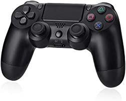 Powerextra Controlador Inalámbrico PS4 - Diseño Avanzado 3D-Sensor y G-Sensor-Gamepad Wireless Bluetooth con Doble...