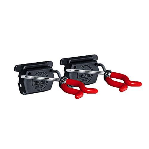 Bruns Gerätehalter 2 Stück rot für Universal Geräteleiste Ausführung BigDean Red Edition
