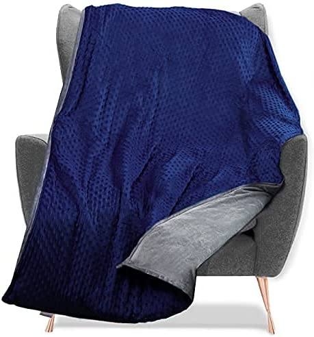 Quility Weighted safety Blanket for Kids Max 81% OFF and Toddlers Cover with - Soft