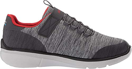 Skechers Boys' Equalizer 3.0 - Aquablast Trainers, Grey (Charcoal Grey Ccgy), 13 UK (32 EU)
