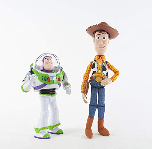 Toy Story Buzz & Woody Talking Action Figures 2 Pack