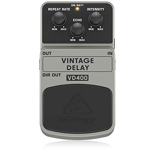 Behringer VD400 Vintage Delay Effects Pedal