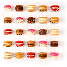 Baked by Melissa Macarons The Mac - Double Stuffed Assorted Bite-Size Macarons, 25 Count