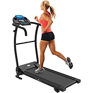 immagine di Bluetooth Nero PRO Treadmill Macchina Tapis Roulant Pieghevole motorizzata elettrica