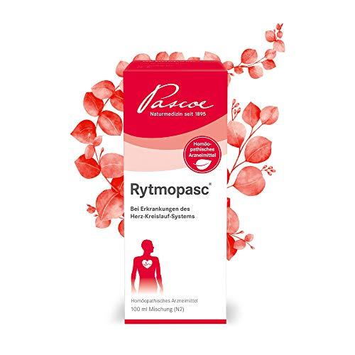 Pascoe® Rytmopasc: bei leichten bis mittleren Herzrhythmusstörungen mit Herzklopfen, Herzstolpern, Herzjagen, Herzstechen & bei Druck- und Beklemmungsgefühlen in der Herzgegend (100 ml)