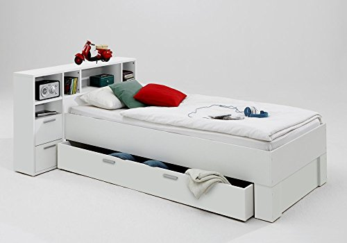 trend-moebel -   Bett 90x200 Incl.
