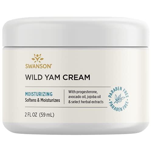Swanson Wild Yam Cream 2 fl Ounce (59 ml) Cream
