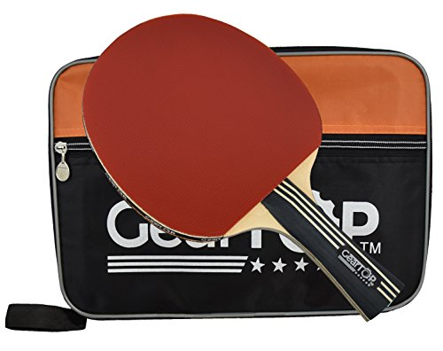 Learn More About GearTOP Ping Pong Paddle, 6 Star Table Tennis Racket with Carry Case, Premium Bundl...