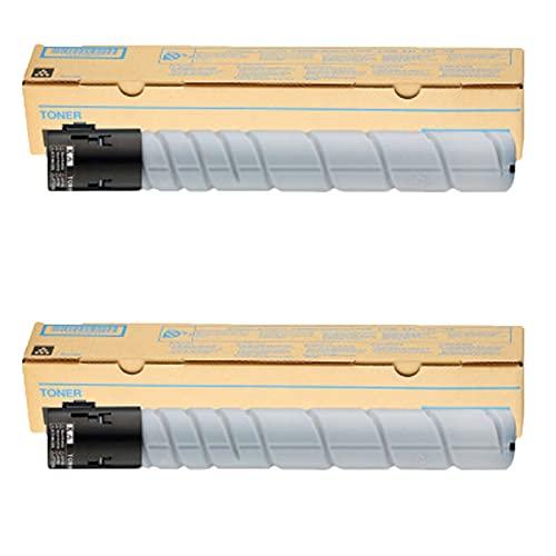 AXAX Cartucho de tóner de repuesto para Koni Minolta TN223, compatible con impresoras Konica Minolta Bizhub C226 266 256 7222 7226, alta capacidad, color negro, 2 unidades